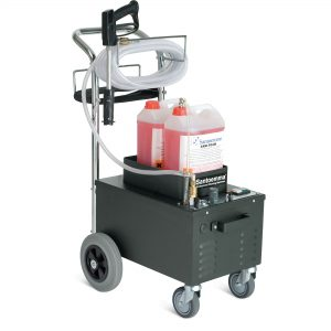 Restroom Cleaning & Sanitizing System