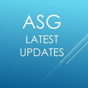 ***ASG Product Updates